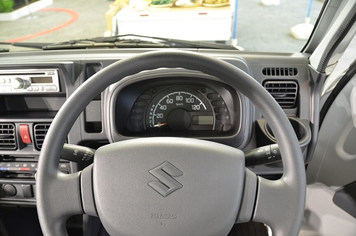 interior suzuki carry pick up