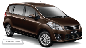 suzuki ertiga dusky brown metallic