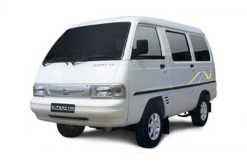 Suzuki Carry Real Van Putih