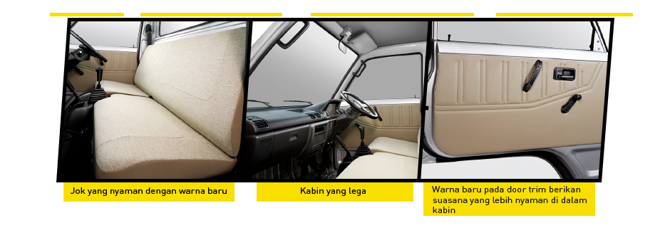 Interior New Carry Pick Up